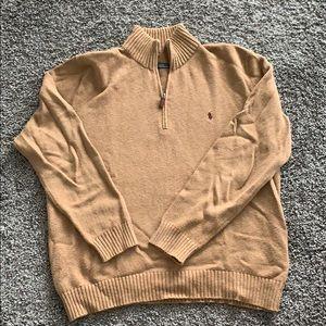 Half zip Ralph Lauren sweater